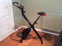 Viavito folding exercise bike