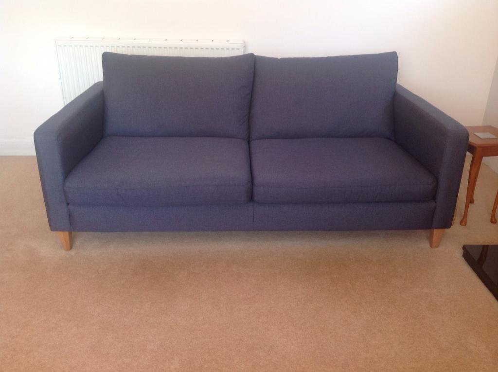 John Lewis Bailey 3 Seater Sofa In Baillieston Glasgow Gumtree