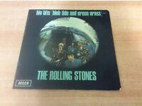 4 Rolling Stones iconic LP's