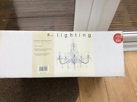Brand new boxed chandelier