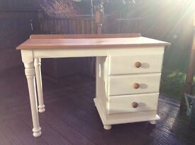 Painted Pine Desk
