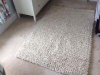 Ivory rug