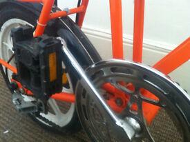 Di Blasi folding bike, ideal commuter bike, Italian Brompton!