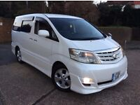 TOYOTA ALPHARD AS EDITION 2.4 AUTO 8 SEATER M.P.V 2005 MODEL FACELIFT MODEL FRESH IMPORT READY TO GO