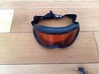 Ski goggles and glasses