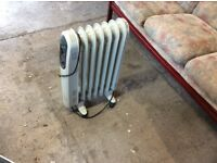 Oil filled thermostatic radiator perfect condition