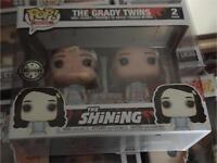 the shining the grady twins funko pop new rare 2 pack