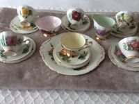 Paragon 21 piece tea set