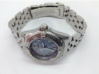 BREITLING WATCH 100% GENUINE LADIES A72345 STAINLESS STEEL SPORTS WATCH AMAZING LOW PRICE JUST £650