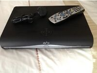 HD Sky Box and remote and wireless connector box