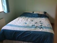 King size bed , immaculate condition hardly used with matress
