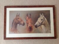 "Bespoke Walnut framed print ""We Three Kings"" by Sue Crawford"