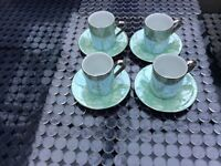 Set of small coffee cups