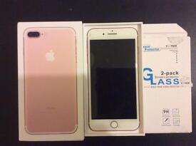Iphone 7+ rose gold, 128gb, 02