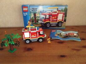 LEGO City 4208: Fire Truck Complete with box and instructions