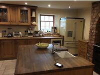 Fitted kitchen and aga appliances