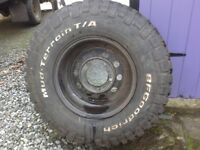 BF Goodrich Mud Terain Tyre LT235/85 R16