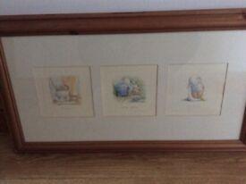 Pine framed Humphreys Corner pictures