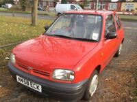 NISSAN MICRA 1,0 AUTOMATIC 1995 3-DOORS ONLY 71,000 K