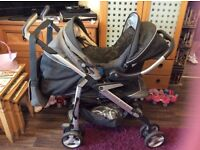 Silver cross travel system comes with all accessories