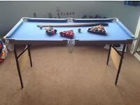 Kids portable pool - snooker table - Ferndown, Dorset