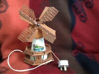 Unusual Vintage Windmill Lamp, could be suitable as a child's nightlight