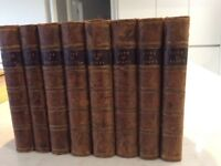 Old and collectable. Life of Scot: Memoirs of the Life of Sir Walter Scott, 8 volumes