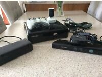 X box 360 and comes compleat with 26 games. Great value