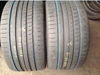 285/35/18 x 2 Goodyear / second hand tyres