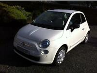 FIAT 500 POP - ECONOMIC FUN SMALL CAR - VERY LOW MILEAGE -