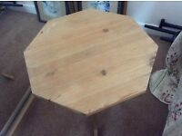 8 sided side table