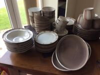Denby truffle dinnerware perfect condition