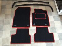 Astra gtc floor mats and wind deflectors for sale