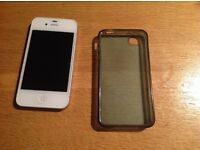 Unlocked Apple iPhone 4s, 16gb, white, great condition