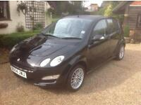 Smart for four black edition 1.1 petrol