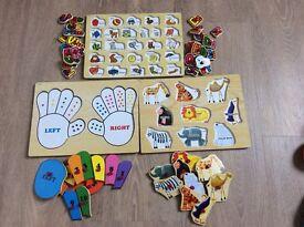 Jigsaw Bundle (three complete jigsaws)