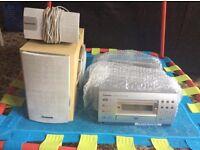 Panasonic DVD and surround sound speakers