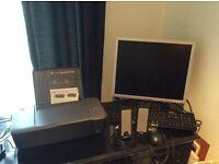 **** Dell Monitor-- Dell Keyboard-- Speakers-- Printer****