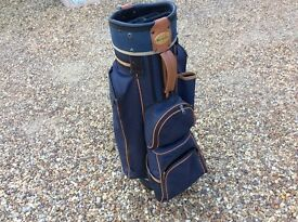 Golf bag for a trolley
