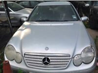 Mercedes c 180 coupe 2005 breaking