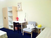 AMAZING BIG DOUBLE/TWIN ROOM, 3 MNTS CANNING TOWN, 5MNT BUS CANARY WHARF, ZONE 2, NIGHT TUBE,502104