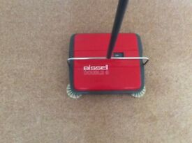 BEX BISSELL DOUBLE 8 CARPET SWEEPER