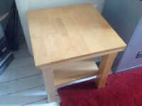 Small wooden side / coffee table