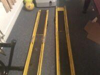 Pair of van ramps ideal for sack barrow