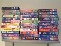 Large Collection of children's VHS Films