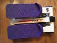 Dymamix mini stepper and leg exerciser.