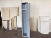 Grey Metal Single Door Lockers