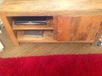 Real wood living room furniture