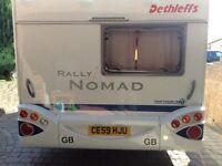 Dethleff Nomad 550DD 4 berth, German build quality 2006