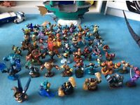 71 skylanders, boat and traps for sale